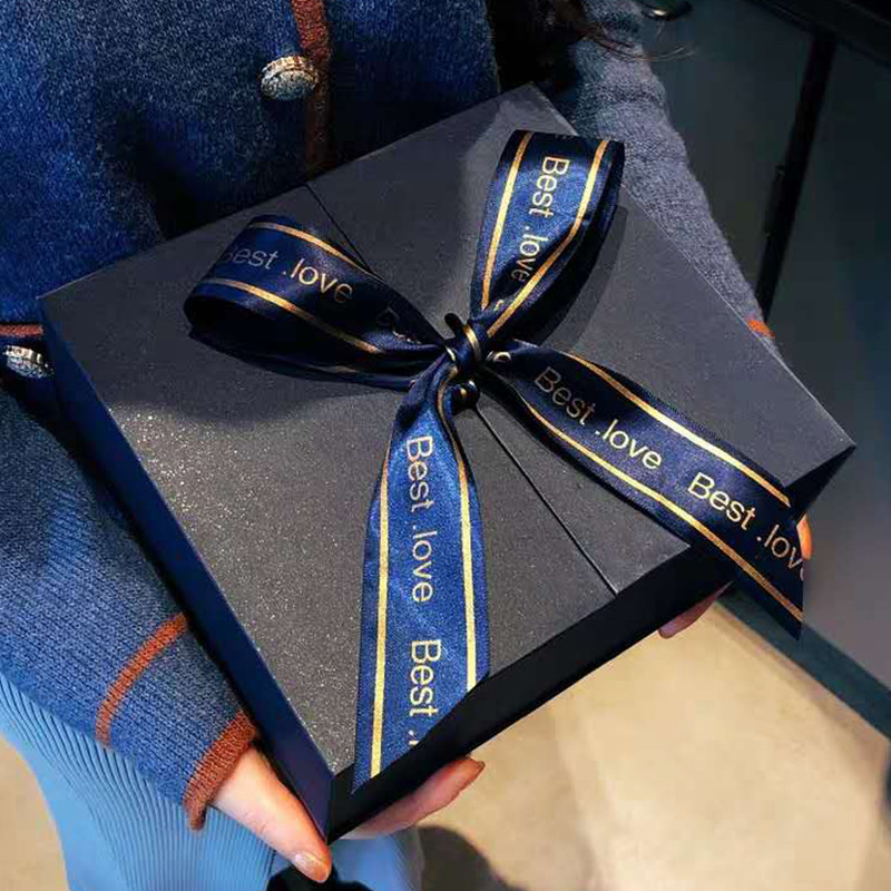 BESTLOVE Hộp quà tặng Hộp quà ngày Valentine, hộp quà tặng, hộp son môi sáng tạo, nơ đeo, hộp quà si