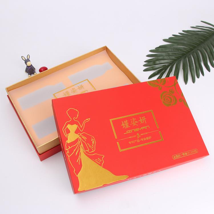 CAIYI Hộp quà tặng Nhà máy tùy chỉnh bao bì cao cấp thế giới bao gồm hộp quà năm mới quy trình lật h