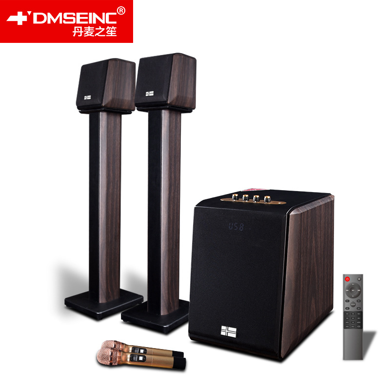 DMSEINC Cinema gia đình v 310 Rạp hát tại nhà Super Karaoke Audio Set Bluetooth Home Living Room Loa