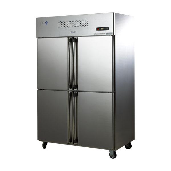 JINGLI Tủ lạnh Cung cấp tủ lạnh Jinli M1.0L4C tủ bếp inox thương mại trực tiếp làm lạnh tủ lạnh bốn