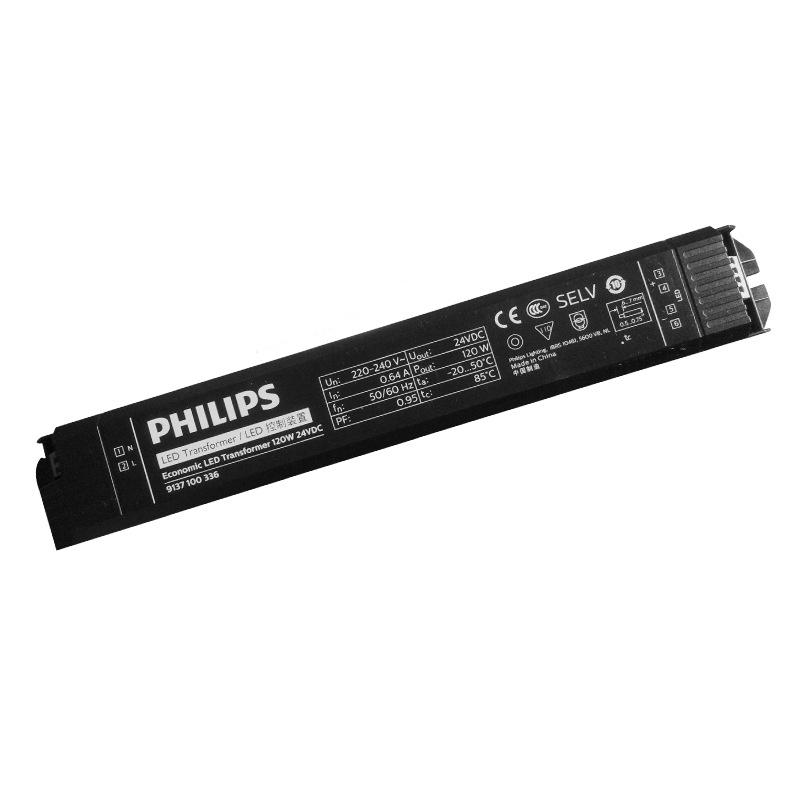 Philips Bộ nguồn cho đèn LED / Philips điện áp không đổi nguồn cung cấp 24 V 30W60W120W180W