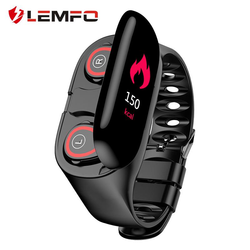 LEMFO Vòng đeo tay thông minh Đồng hồ đeo tay thông minh LEMFO M1 Màn hình màu thể thao Đồng hồ đeo