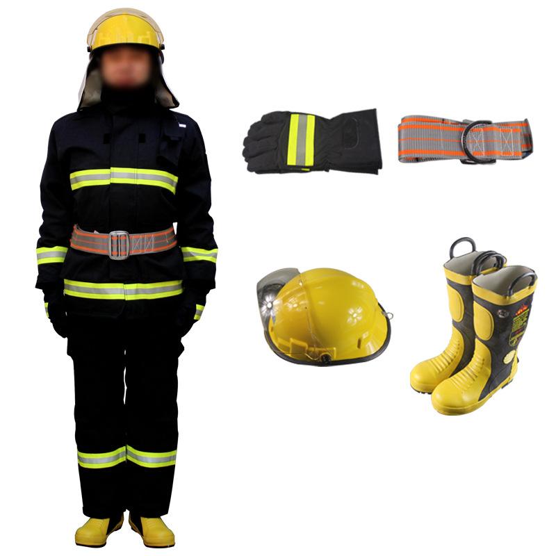 RONGSHENG Trang phục chống cháy 14 mẫu quần áo chữa cháy được chứng nhận 3C, quần áo chữa cháy, quần