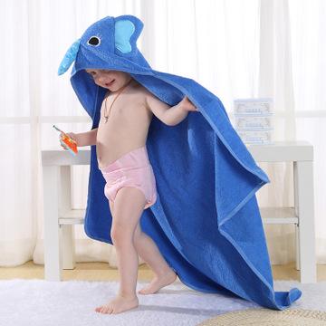 MICHLEY Áo choàng trẻ em Mùa xuân xuyên biên giới và mùa thu mới cho trẻ em áo choàng tắm động vật p