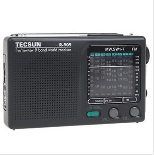 Tecsun Máy Radio / Desheng R-909 Đài phát thanh dành cho người cao tuổi Full FM