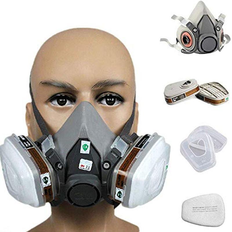 PUDA Mặt nạ phòng chống khí độc Mặt nạ khí Tang Sơn Puda mặt nạ thở 6200 mặt nạ chống thuốc trừ sâu
