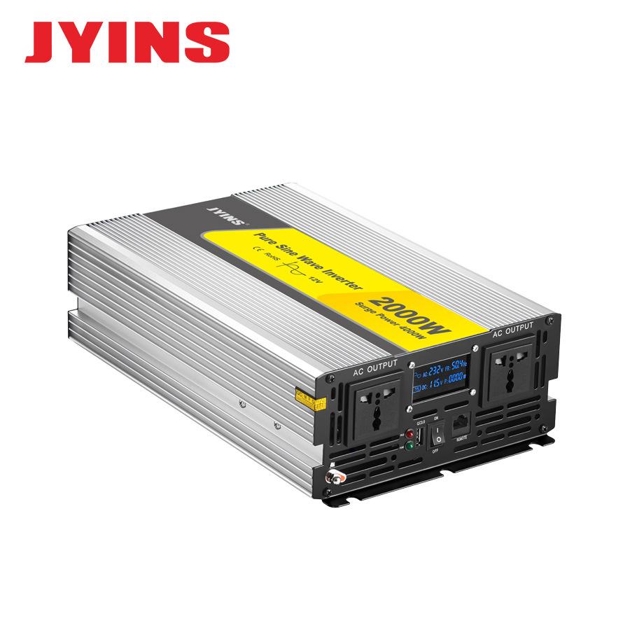 JYINS Thiết bị biến áp Elite nhà sản xuất biến tần sóng sin tinh khiết 300W-6000W năng lượng mặt trờ