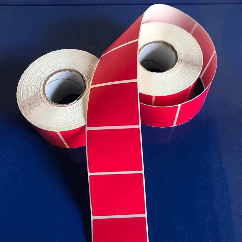 Tem dán in mã vạch Nhà sản xuất dán màu tự dính nhãn thuộc tính sản phẩm nhãn giấy tùy chỉnh màu tro