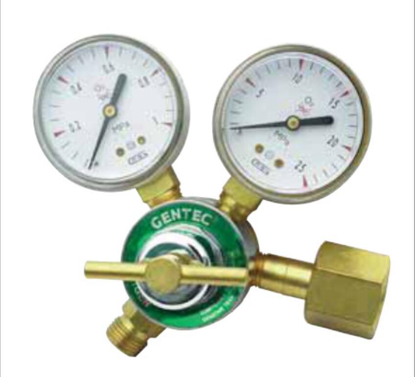 GENTEC Đồng hồ đo áp suất Hoa Kỳ Jie Rui GENTEC 190X-80 Bộ giảm áp oxy nhẹ