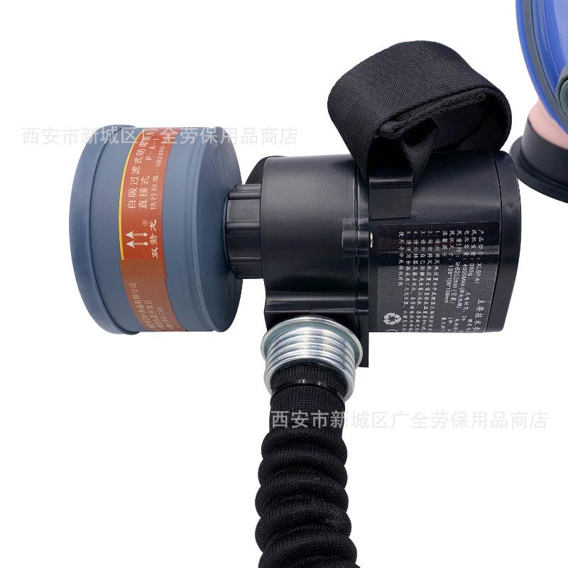 Bộ mặt nạ cung cấp khí điện mặt nạ cung cấp khí giả gồm hai mũi tên rồng 70trọng_, bự field silicone