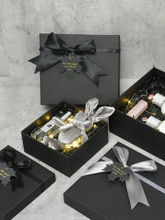 Hộp quà tặng  in phong cách hộp quà tặng hộp bao bì hộp quà tặng hộp trống tùy chỉnh gửi bạn cùng lớ