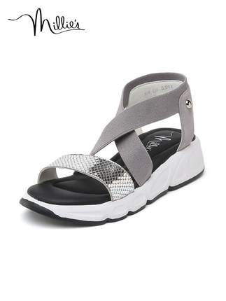 Millie's / Miao Li Xia trung tâm mua sắm Hồng Kông cùng một đôi giày cao gót đế xuồng kiểu dáng thể