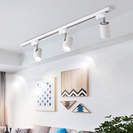 Đèn led spotlight gắn trần trang trí cửa hàng .