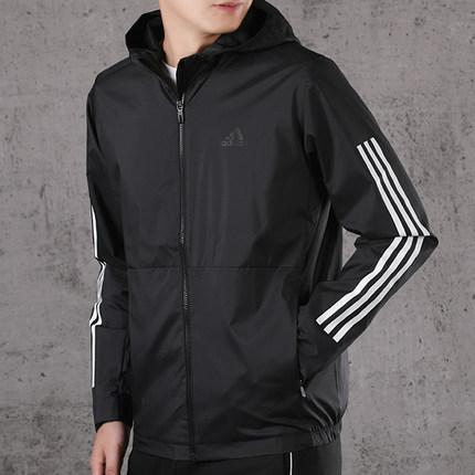 Adidas Áo khoác nam Adidas Adidas 2020 áo gió mới thoáng khí áo khoác dệt thể thao FM9428