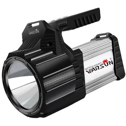 Wallson Đèn điện, đèn sạc led chói đèn pin sạc đèn di động tìm kiếm siêu sáng ngoài trời tầm xa xeno