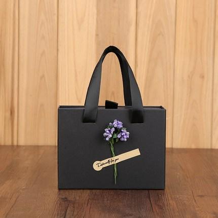 Hộp giấy bao bì Hộp quà tặng ví son môi nước hoa bao bì hộp tùy chỉnh sinh nhật net hộp quà màu đỏ h
