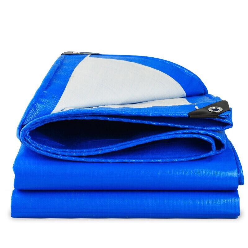 XINCHANGSHENG Bạt nhựa Vải bạt màu xanh và trắng vải chống thấm nước mưa vải bạt không thấm nước