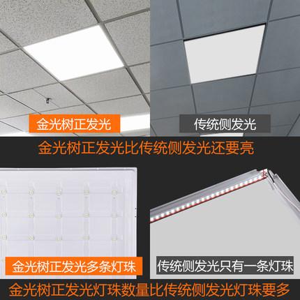 Jinguang Bóng đèn LED trần vuông  cây tích hợp trần led bảng điều khiển ánh sáng bảng điều khiển ánh