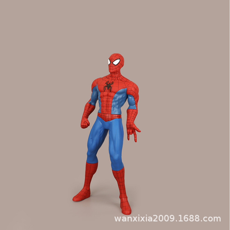 79cm anime hand made large-scale spider man hand made movable doll model toy accessories