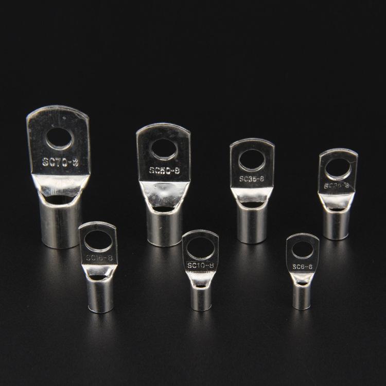 ZHENTE Cầu đấu dây Domino Bán trực tiếp nhà máy đóng hộp tròn ép lạnh SC10-6 peep đồng mũi thiết bị