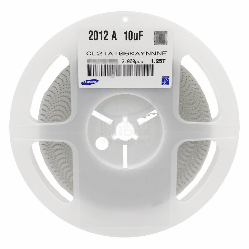 DINOSY Tụ Ceramic Tụ điện gốc SM 0805 2012 106Z 10V 10UF Y5V -20% + 80% Z file dung lượng cao