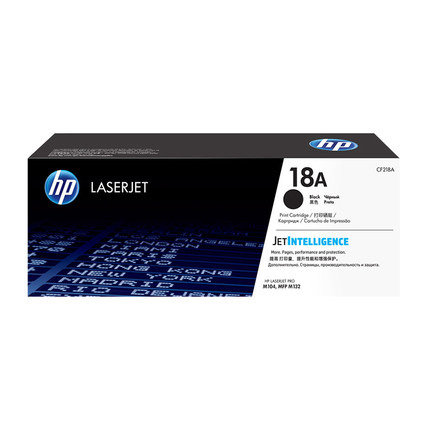 HP Hộp mực  Hộp mực HP HP gốc 18A trống mực hình ảnh 19A Hộp mực CF218A M104a M104w M132a M132nw M13