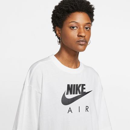 Nike Áo thun Nike chính thức cho giới trẻ áo sơ mi nữ tay ngắn NIKE AIR có bạn cùng một đoạn CJ3106