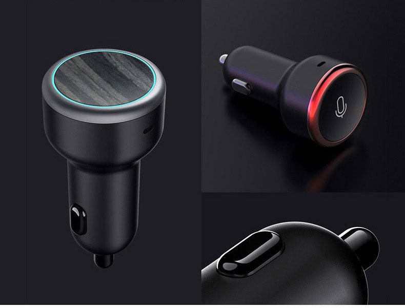 Dongdong voice intelligent voice control car MP3 player Bluetooth receiver car charging music USB ch