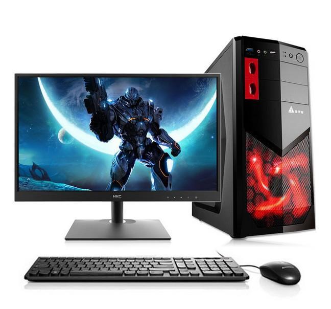 Máy tính để bàn LCD 19 inch Hiển thị độc lập trò chơi Quad-core