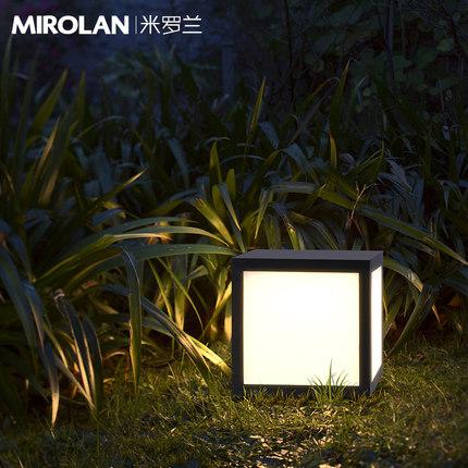 Đèn LED sân vườn Ánh sáng mặt trời Miroland Vườn ngoài trời Ánh sáng bãi cỏ Ánh sáng ngoài trời khôn