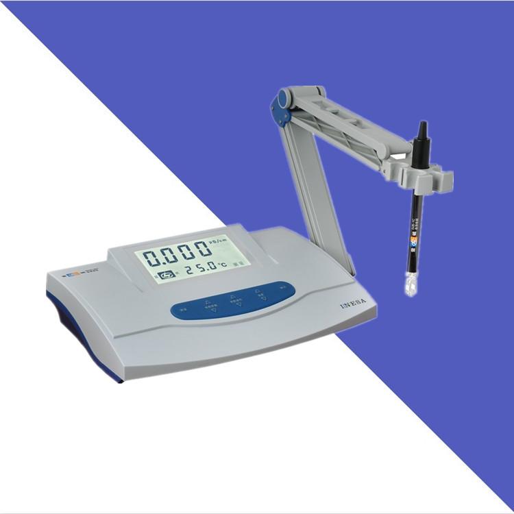 LEICI Dụng cụ phân tích Máy đo độ dẫn điện từ máy tính để bàn Thượng Hải Thunder DDS-307A Máy đo độ