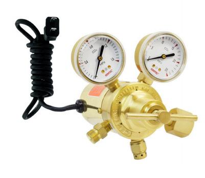 GENTEC Đồng hồ đo áp suất Hoa Kỳ Jie Rui GENTEC 198CG-4M-36 giảm áp điện carbon dioxide