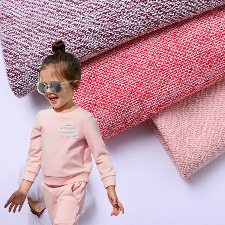 HAIYUAN Vải French Terry (Vấy cá) Chất liệu 100% cotton không xuống, vải cotton nhỏ, khăn lau nhà