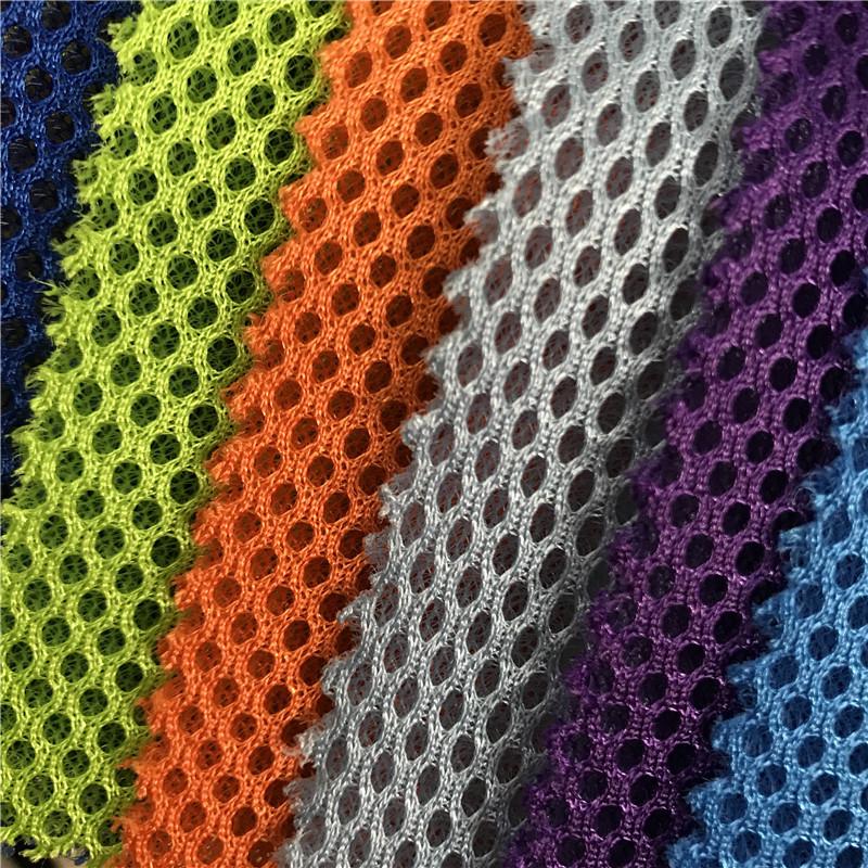 TIANYI Vải lưới Chất liệu polyester ngoài đáy đơn có lỗ tròn nhỏ đặc biệt bằng vải lưới lưới túi vải