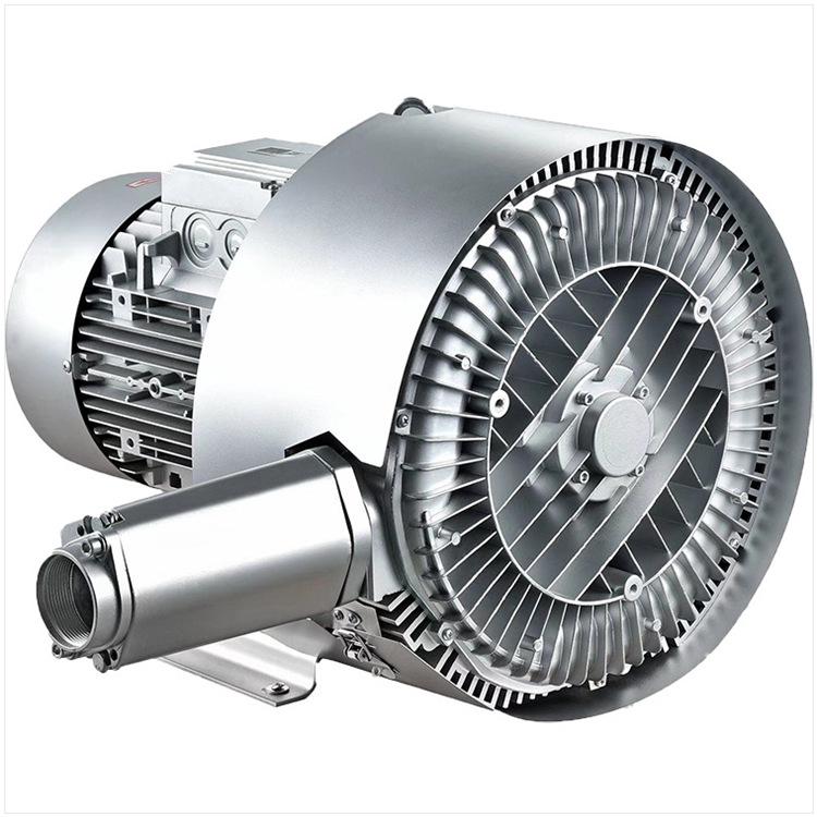 WANKANG Quạt thông gió Vật liệu vận chuyển đôi cánh quạt xoáy không khí bơm nước thải công suất cao