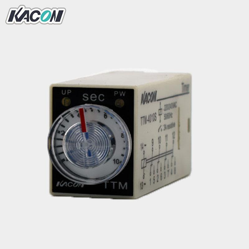 Kacon Rờ-lê Bán buôn Rơle thời gian Kacon / Kaikun TTM-4010S trễ 24,320V 2 mở 2 rơle vi đóng