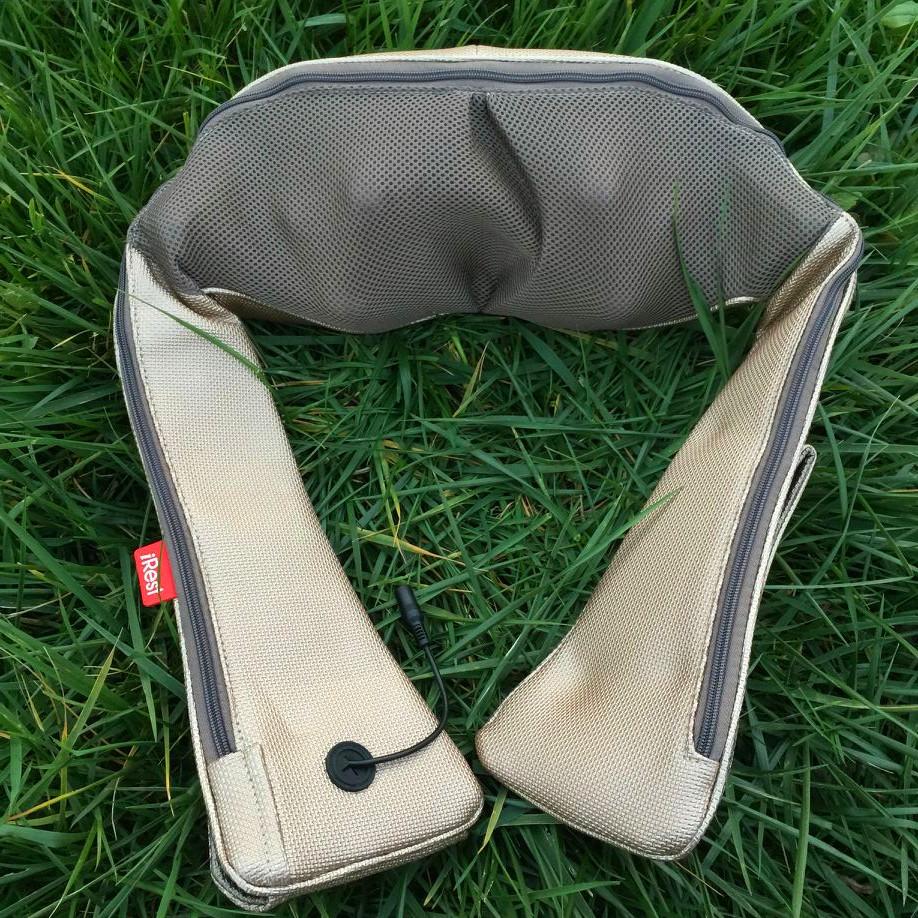 Irest Máy massage / Ailisite đốt sống cổ massage khăn choàng sl-d180c sưởi ấm và sạc không dây mát x