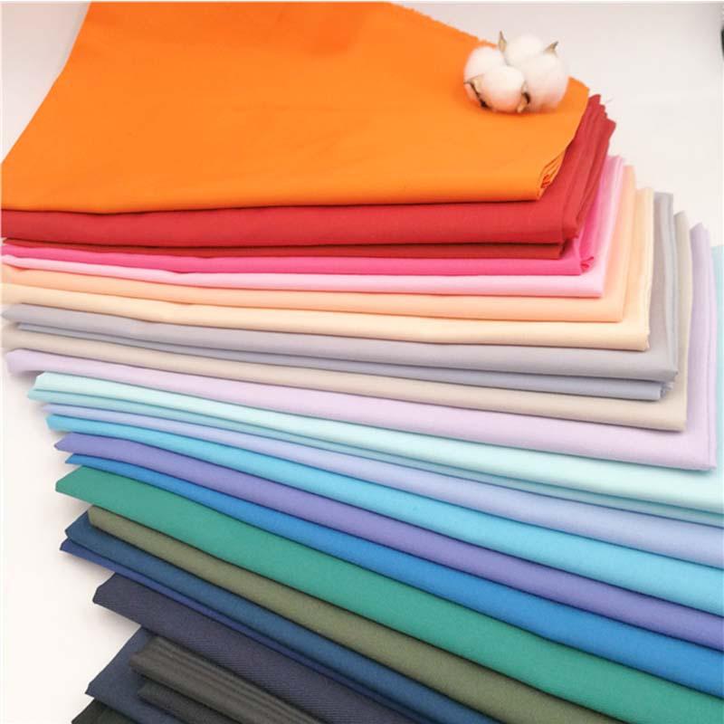 RONGTENG Vải cotton pha polyester Vải polyester-cotton túi vải nhuộm 96 * 72TC quần áo lót cotton ló