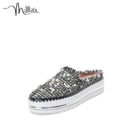 Millie's giày bánh mì / giày Platform / Miao Li 20 mùa xuân và mùa hè mới dày đáy nhỏ hương thơm gi