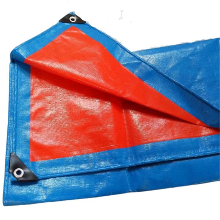 MEIHAO Bạt nhựa Nhà máy bán buôn 70g-300g màu xanh da trời không thấm nước chống nắng pe bạt nhựa bạ