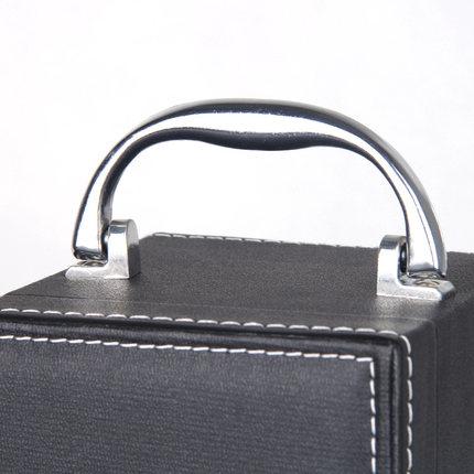 Hộp da  Rượu vang da hộp duy nhất dính chung hộp rượu đóng gói hộp quà tặng rượu vang hộp tùy chỉnh