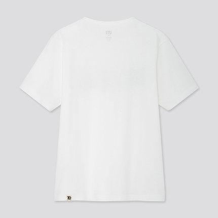 UNIQLO Áo thun Quần áo nữ (UT) PEANUTS 70 áo phông in (tay áo ngắn) 424817 UNIQLO