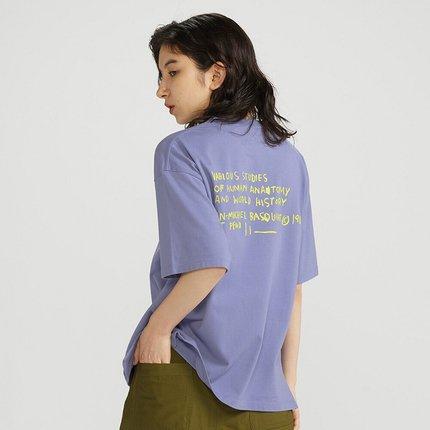 UNIQLO Áo thun Áo thun nữ in hình đôi (UT) Áo phông in hình (áo ngắn tay) 427014 UNIQLO