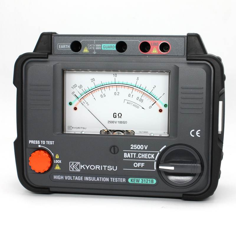 KYORITSU Máy móc Máy đo điện trở cách điện cao 2500V KEW3121B Kreitz KYORITSU Kyoritsu KEW3121