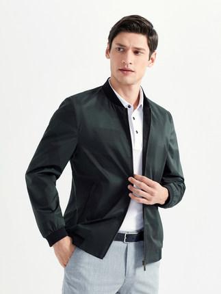 Seven7 Áo khoác Qi thương hiệu nam xuân 2020 áo khoác mới kinh doanh áo khoác nam giản dị áo khoác b