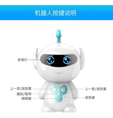 XIAOYONG Rôbôt  / Người máy Nhà máy Quà tặng Hot Super Huba WIFI Đồ chơi giáo dục Câu chuyện học tập