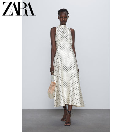 ZARA Váy Váy chấm bi của phụ nữ mới ZARA 04886086064