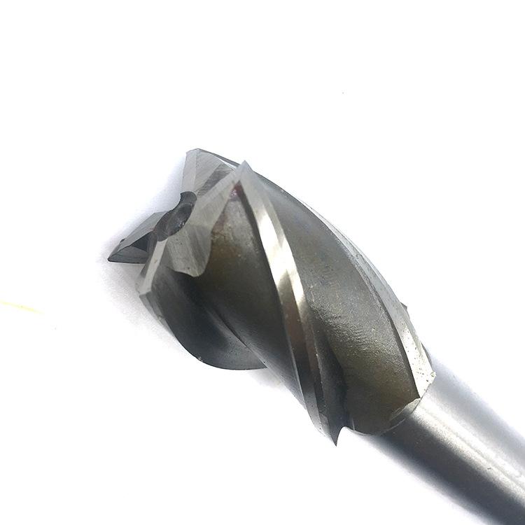 SVVJ Dao phay Dao mài dao phay nhỏ tốc độ cao hợp kim nhôm hợp kim thép trắng mài góc tây nam 4 lưỡi