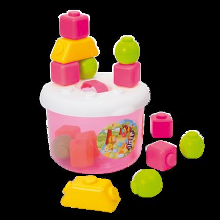 Đồ chơi sắp xếp khối xây dựng cho bé .