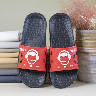 YAOLI Giầy dép Dép nam Eva mùa hè Yaoli nhẹ bọt dày phòng tắm dày chống trượt dép mềm đáy Hàn Quốc